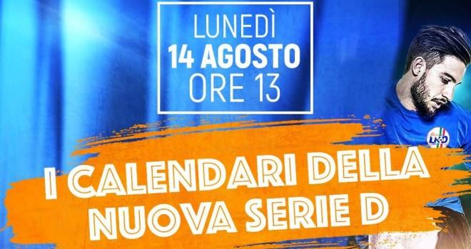 Serie D girone E: la diretta dell'ufficializzazione del calendario