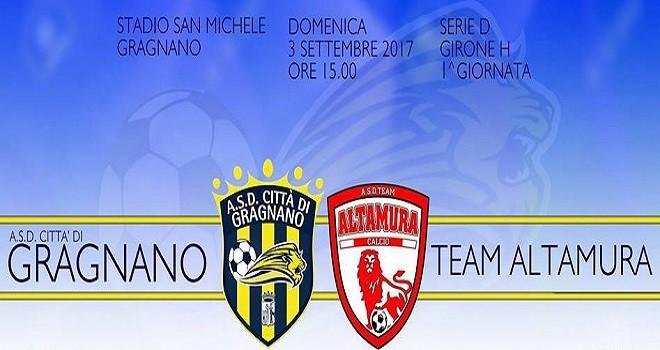 Gragnano-Altamura, info e prezzi per assistere alla gara del S.Michele