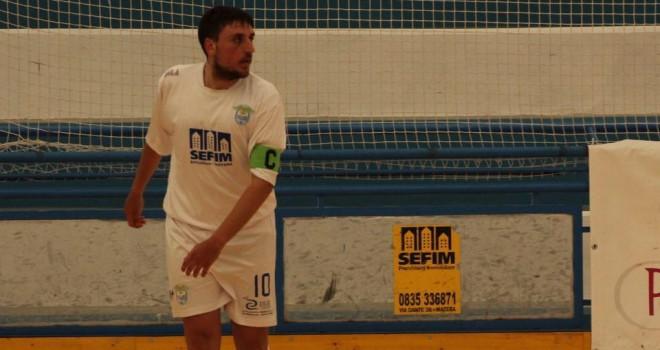 Calcio a 5, il Real Team Matera riparte dalla bandiera Vivilecchia