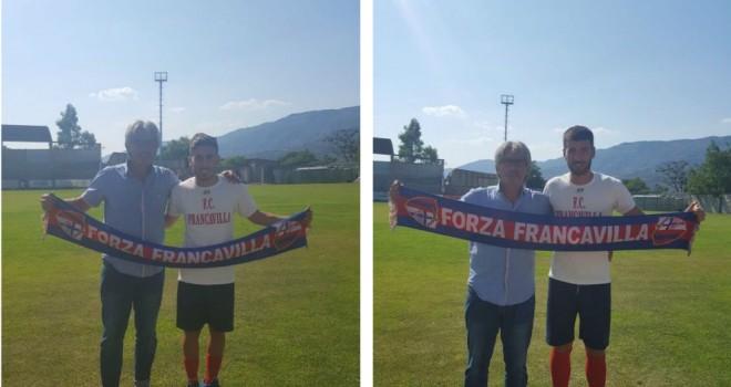 Due volti nuovi per il Francavilla: firmano Volpicelli e Bellante
