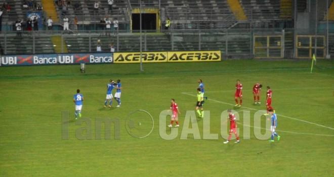 Brescia-Padova 1-0: rondinelle al terzo turno di Coppa Italia