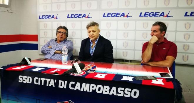 """Campobasso: De Lucia si presenta: """"Sono qui per vincere"""""""