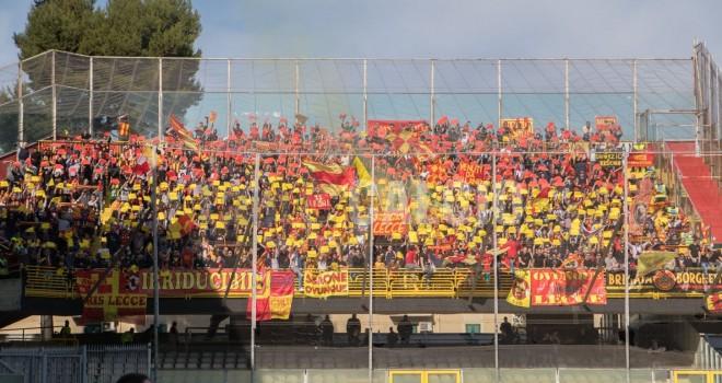 Tifosi Lecce in trasferta