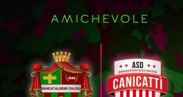 Oggi amichevole Sancataldese - Canicattì. Ingresso gratuito