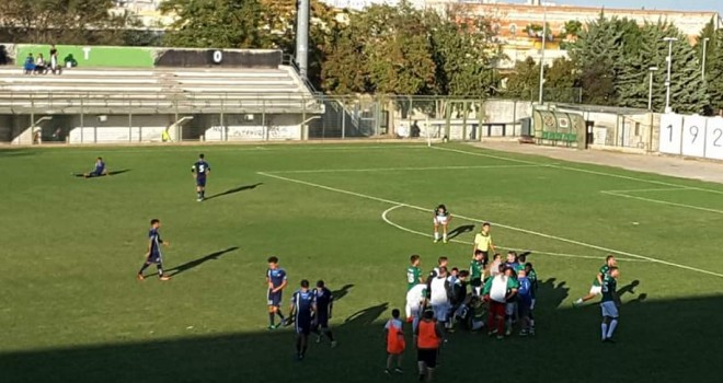 Bitonto-Vieste 2-0: remuntada neroverde. Garganici battuti in otto