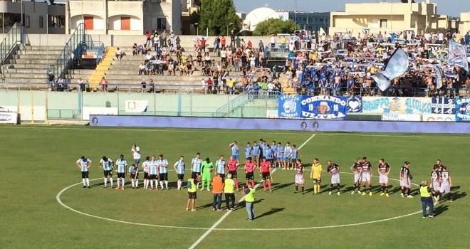 Catania-V.Francavilla: le formazioni ufficiali del match