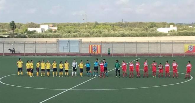 Coppa Italia, Salento W. - Pink 1-0, baresi sconfitte ma qualificate