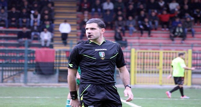 Matteo Centi di Viterbo dirigerà l'anticipo Nerostellati - Campobasso