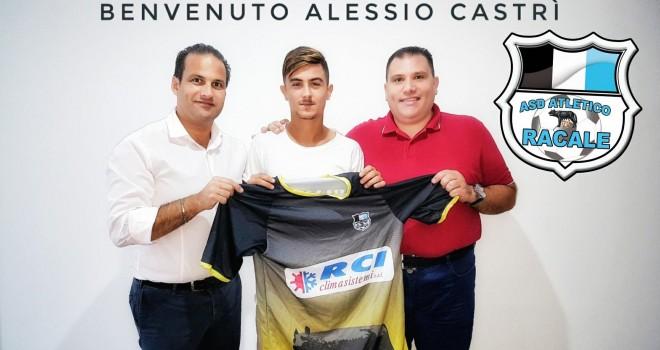 Atletico Racale, nuovo colpo in attacco: arriva Alessio Castrì