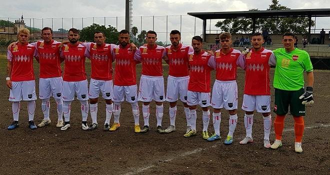 RUS Vico-Sorrento 0-1, un gol di Pepe regala il successo ai rossoneri