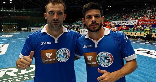 Futsal Masters, esordio vincente per il Lollo Caffè Napoli