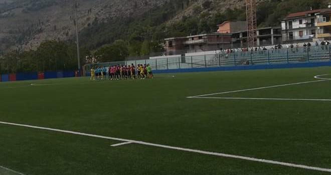 Castel San Giorgio e Sorrento impattano sullo 0-0