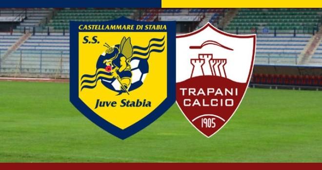 Juve Stabia in campo solo un tempo, il Trapani vince 3-1