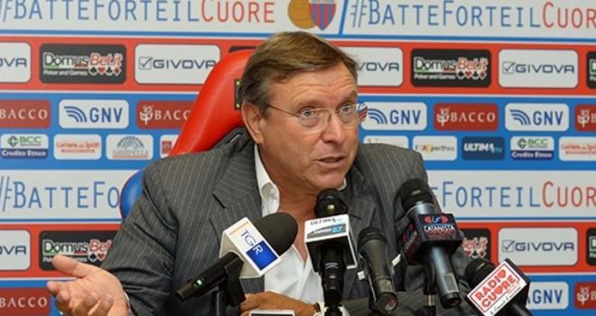 """Catania,Lo Monaco: """"contro il Trapani sarà assolutamente decisiva"""""""