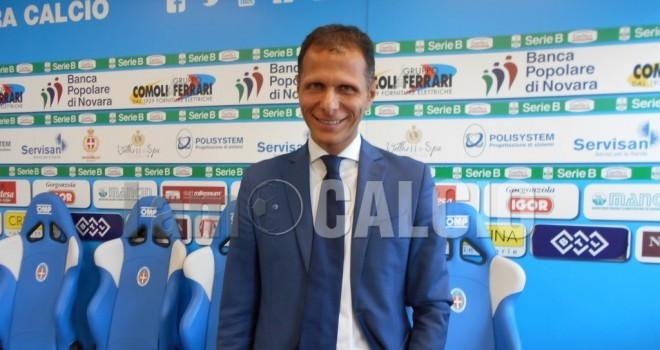 "Novara-Parma, parla Teti: ""Viste buone cose in campo"""