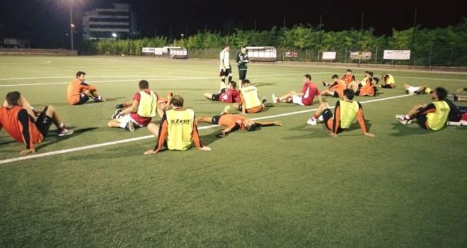 Foto Real San Gennarello, allenamento