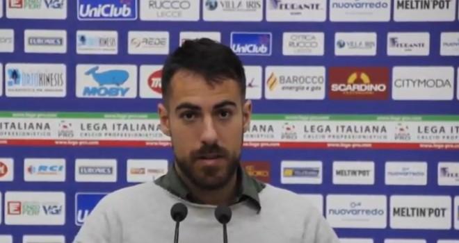 """Lecce. Mancosu: """"Trovare l'attenzione per fare bene in Supercoppa"""""""