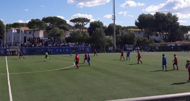 Serie D/G. L'SFF Atletico vola in testa a punteggio pieno