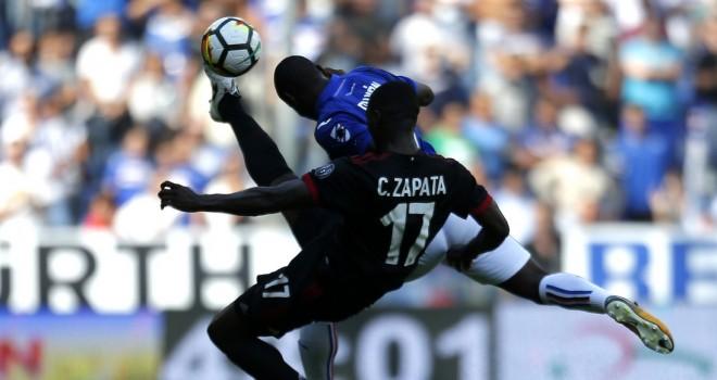 Zapata in azione a Genova