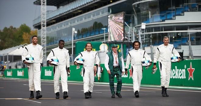 """""""Champions of the grid"""". Le """"UCL Legends"""" sfidano le """"F1 All Stars"""""""