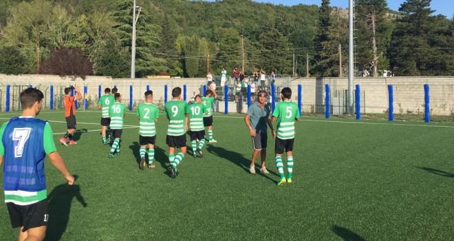 Valdiano - Virtus Avellino 0-0: irpini indenni a Casalbuono