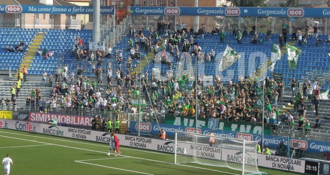 Novara-Avellino 1-2, Doppio Ardemagni condanna il Novara