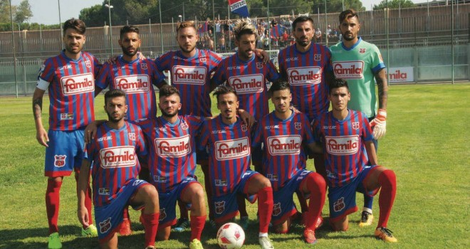 ASD Paternò: la prima squadra si presenta alla Città
