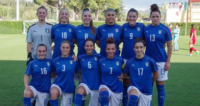 U19, Italia - Spagna 0-2, azzurrine sconfitte a testa alta