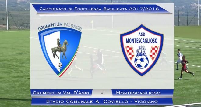 Gli highlights di Grumentum Val D'Agri-Montescaglioso 1-1