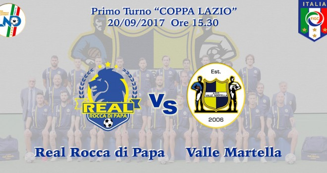 Real Rocca di Papa-Valle Martella Calcio. Il video del Match di Coppa