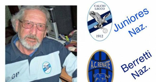 VIDEO Juniores Calcio Lecco, test contro il Renate nel ricordo di Pino