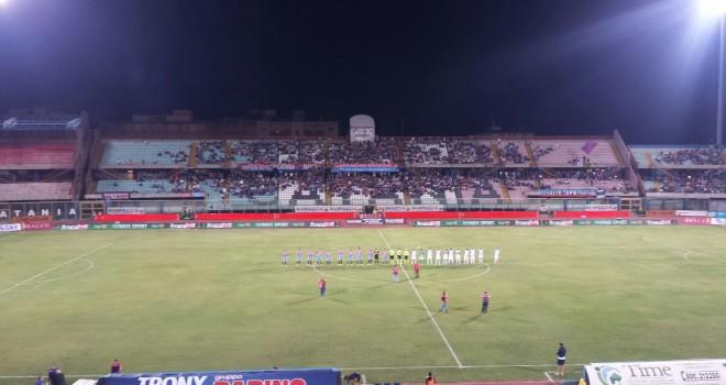 Catania-F.Andria 1-0: i federiciani sprecano, Lodi firma i tre punti