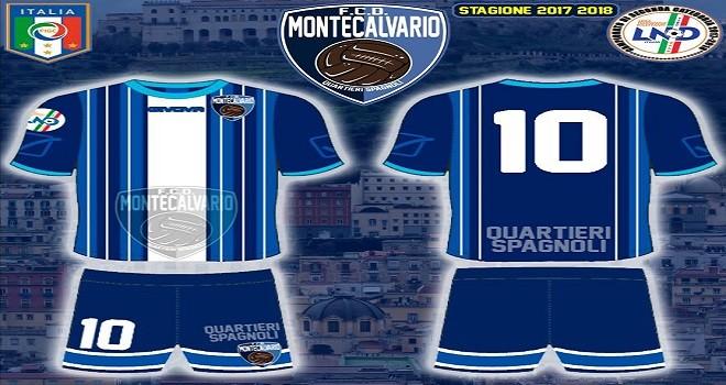 Montecalvario, presentata la nuova maglia: ecco le novità