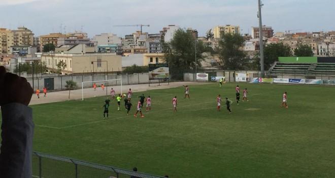 Un gol di Moscelli regala i tre punti al Bitonto.Cade in casa l'Omnia