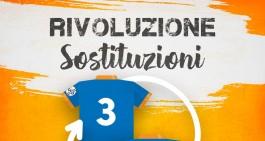 Cinque sostituzioni: dubbi, domande e chiarimenti