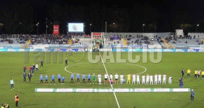 Novara-Frosinone 2-1, gli azzurri vincono e convincono al Piola