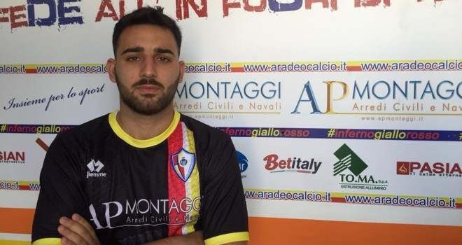 Atletico Aradeo, colpo di mercato: ingaggiato l'ex Lecce Tundo