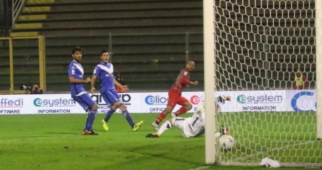 Cremonese-Brescia 2-0: Piccolo e Claiton affondano le rondinelle