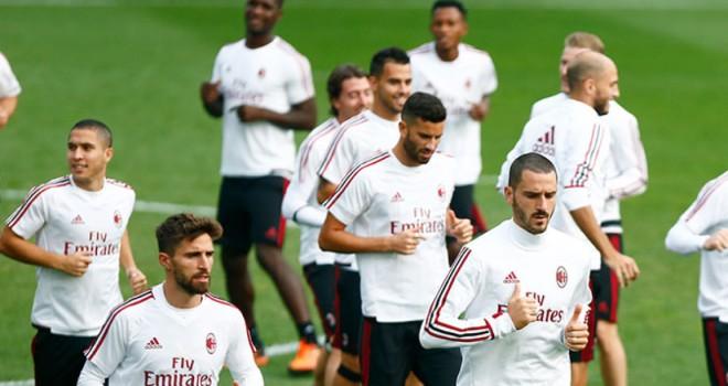Milan, al lavoro verso l'AEK Atene