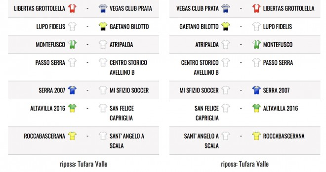 Terza Categoria, il calendario del girone D
