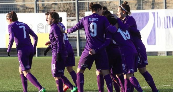 Prima vittoria della Fiorentina Women's in Seria A