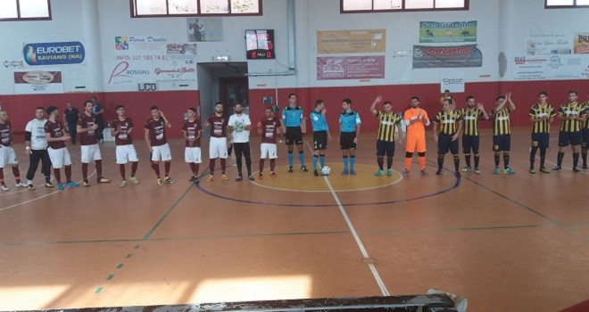 Real San Giuseppe, al PalaCiccone battuta l'Acerrana FC