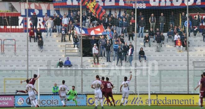 Serie D/H, classifica spettatori: risalita a Taranto, minimo ad Aversa