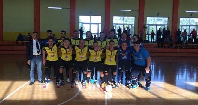 Calcio a 5. Junior Domitia, con un grande cuore recupera l'Acerrana