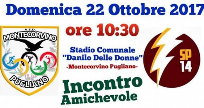 Il Montecorvino sfida lo Sporting Pontecagnano in amichevole
