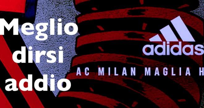 Milan, ufficiale la rottura con Adidas