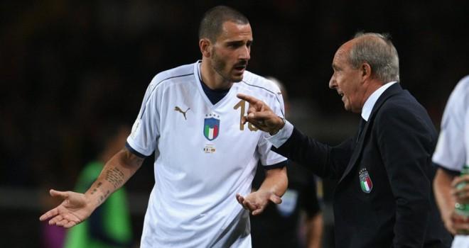 Bonucci confuso, a Torino