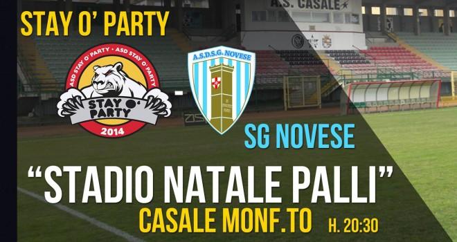 Coppa: Stay-Novese si gioca al Natale Palli
