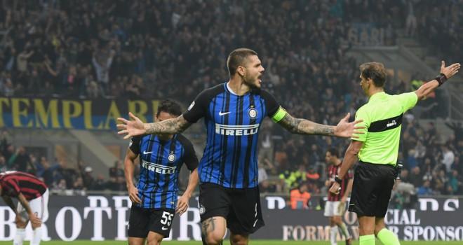 Inter, i tifosi votano Icardi come migliore in campo nel derby
