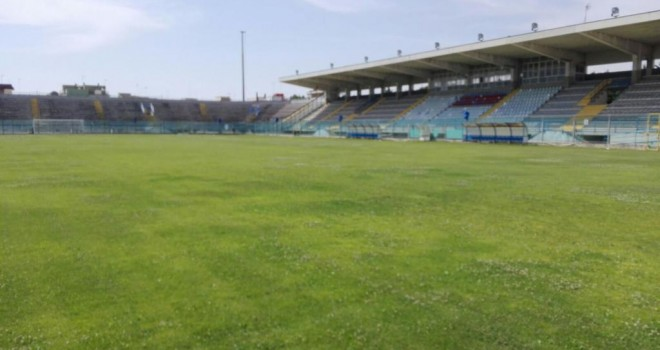 Lo stadio Franco Fanuzzi di Brindisi